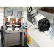 双工位户外摄像头气密性检测仪检测效果分享