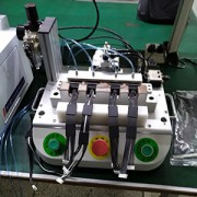 四通道防水性检测仪在线材检测上的运用展示