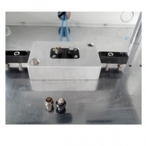 海瑞思气密性防水检测航空插头测试实例