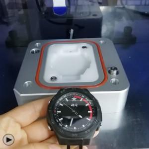运动手表防水检测视频 智能手表防水测试