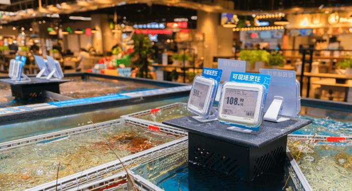 超市电子价签做防水测试案例-海瑞思科技
